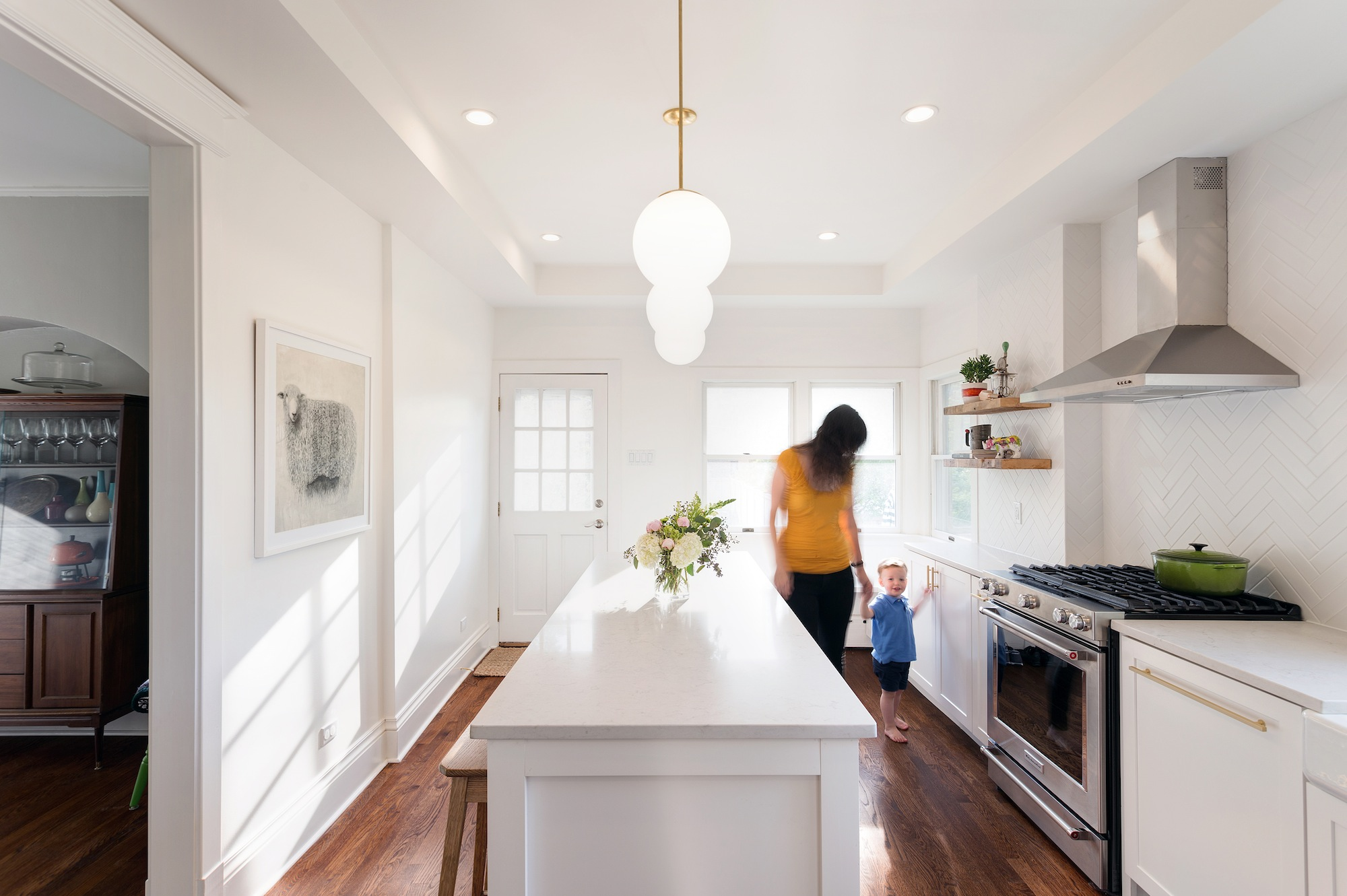 Before and After: Gorgeous Photos of an Oak Park Kitchen Remodel ...