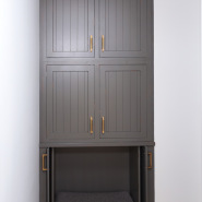 Cabinet with Pet Bed