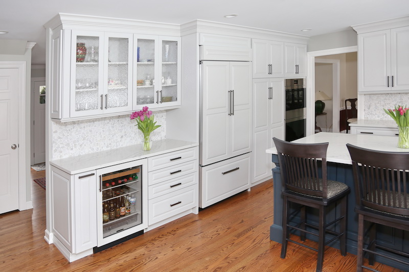 Before And After Gorgeous Kitchen Remodel In Libertyville