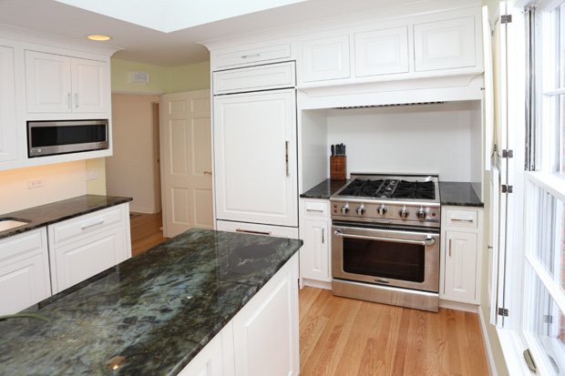 Before And After Amazing Kitchen Remodel In Lake Bluff