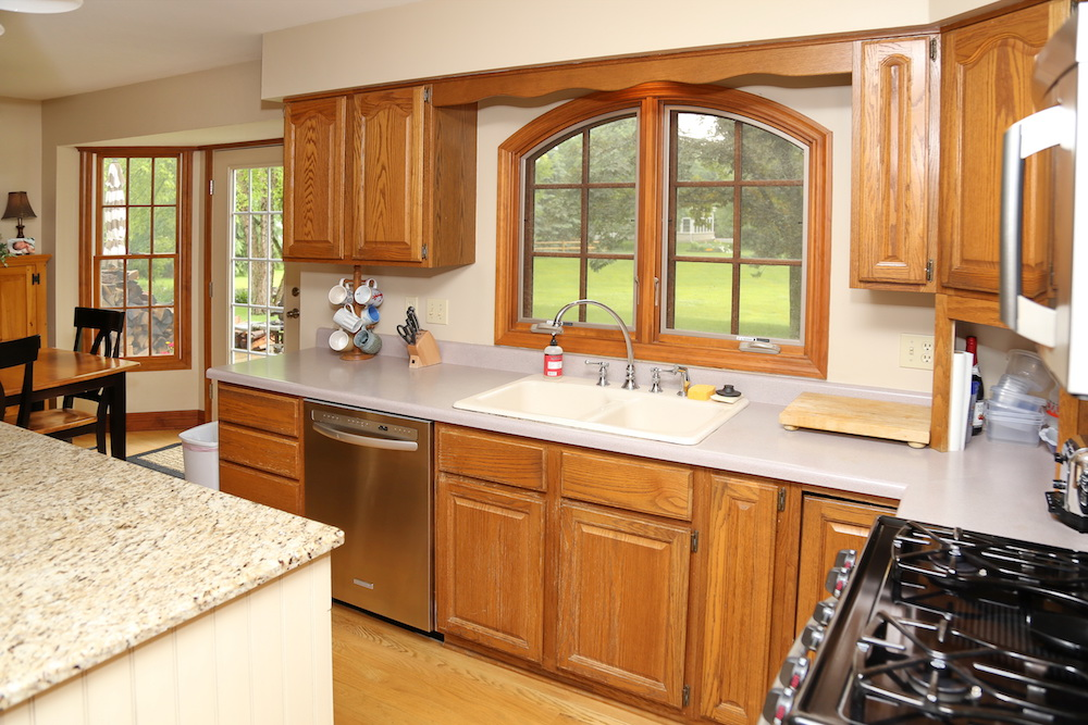 Before And After Watch A Geneva Kitchen Transform