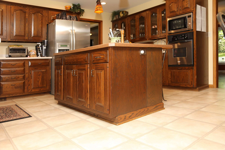 diamond cabinets whiskey black kitchen