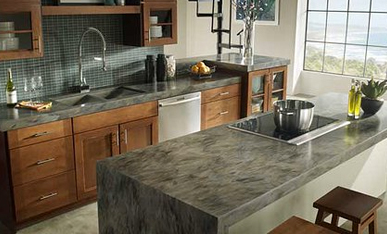 Countertop benefits: whats the difference between granite corian
