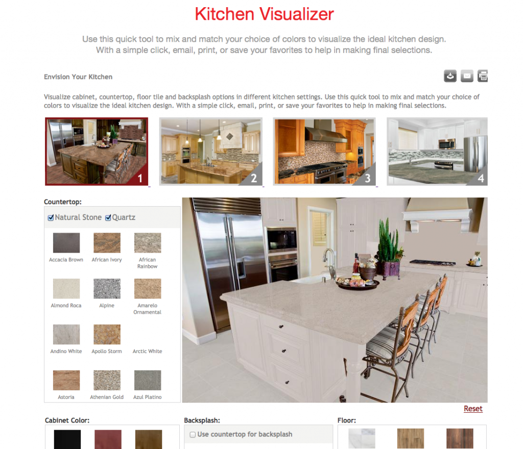 Decorate Your Kitchen Using Our New Kitchen Visualizer Seigles Cabinet Center