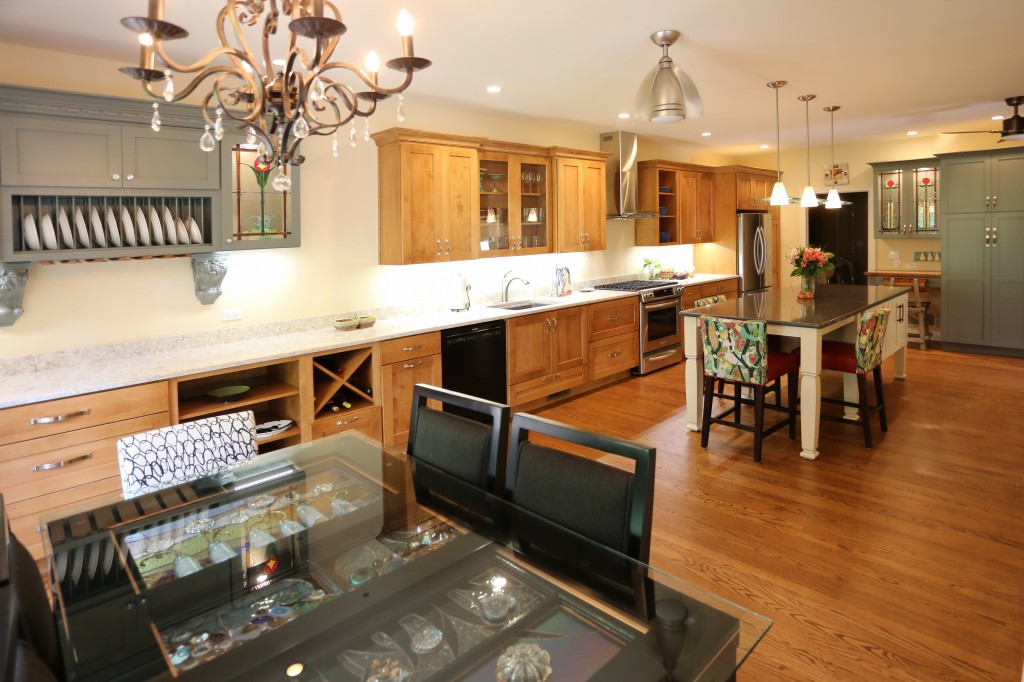 Before and After: Perfectly Designed Entertaining Kitchen ...