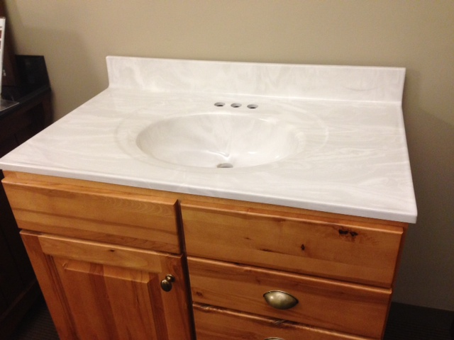 Cultured Marble Vanity Top On Clearance Now At Seigles Seigles Cabinet Center
