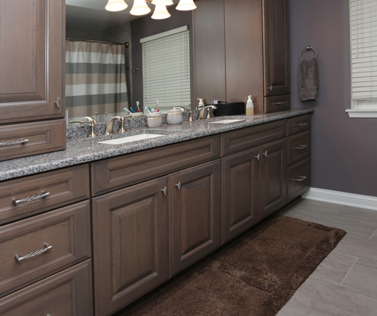 Bathroom Remodel Cost Recoup 2 renovation projects under $5,000 with big roi | seigles cabinet