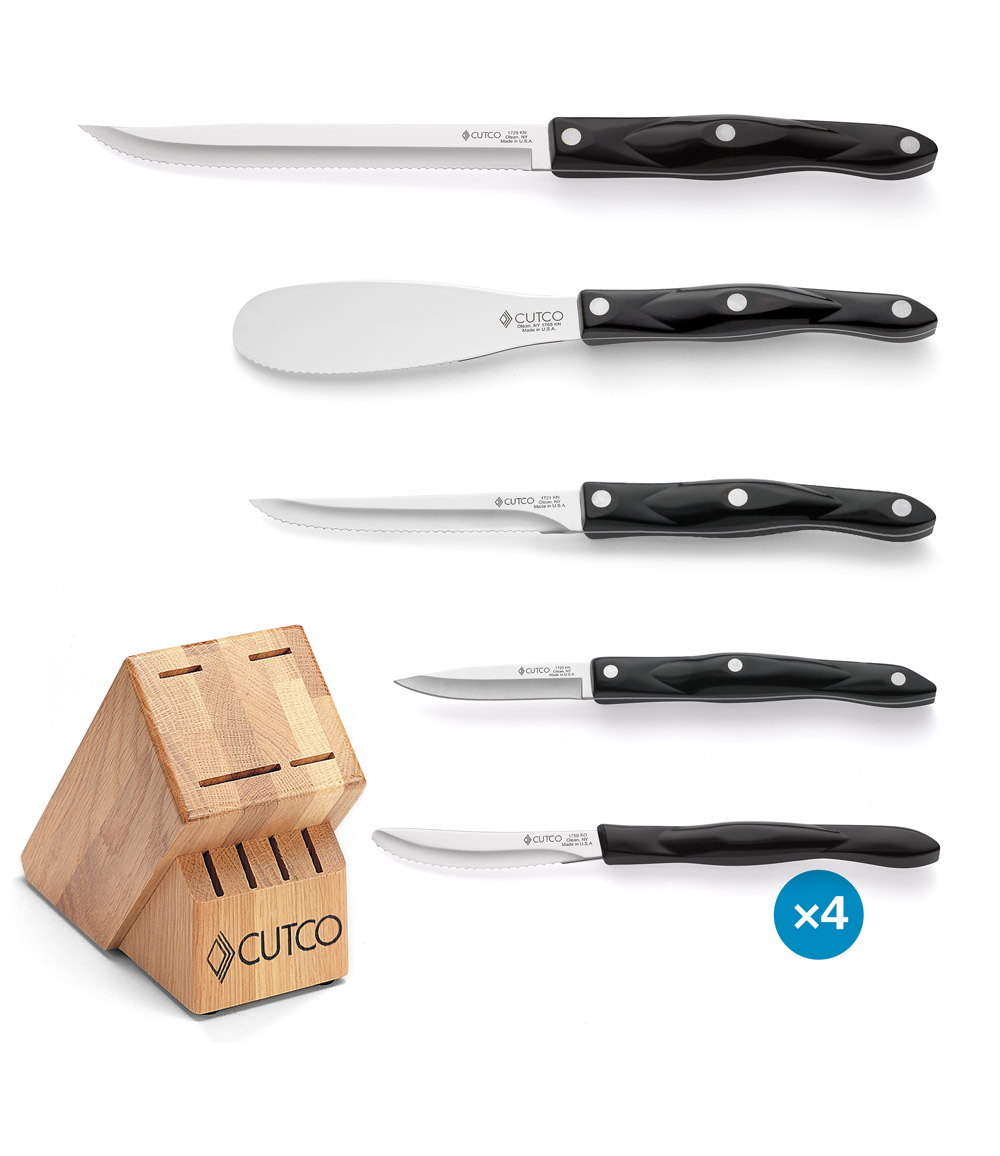Knives. The 8 Piece Studio Set Is Valued At Over $600 And Includes: