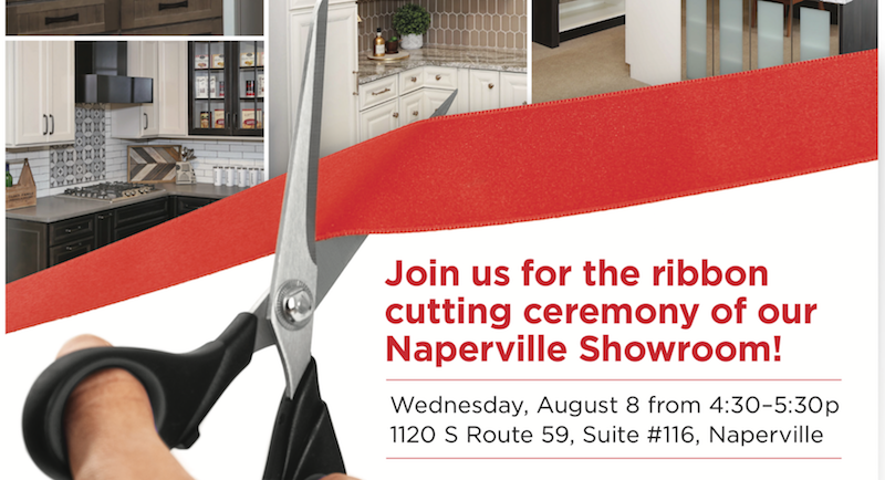 Join Us For A Ribbon Cutting At Our Naperville Showroom August - Bathroom showroom naperville