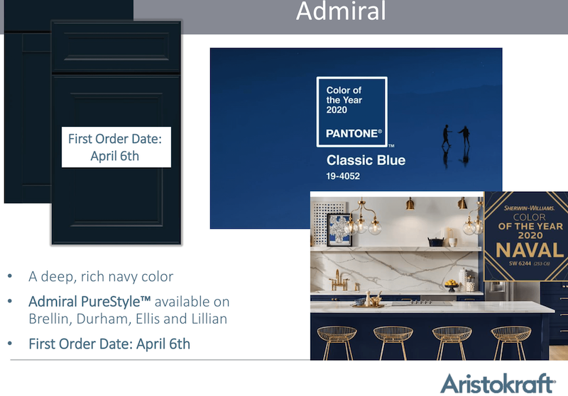 Purestyle Cabinets Releases Even More Color Options Including Deep Navy Seigles Cabinet Center